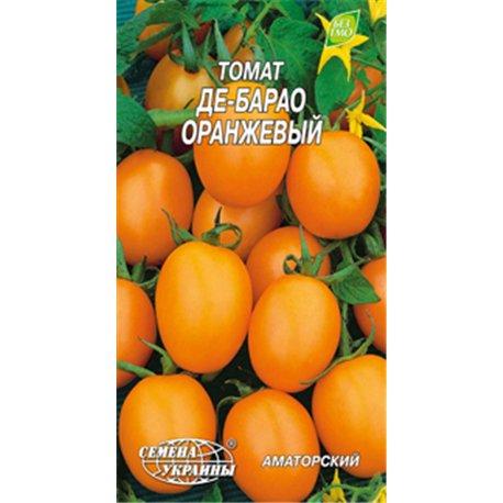 Семена томата Де-Барао оранжевый