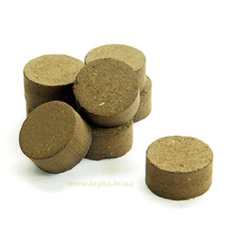 Таблетки биогумусовые для рассады Достаток диаметром 30мм 1 шт